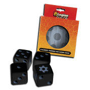 Legion - D6 Dice Tin - Iconic Gear