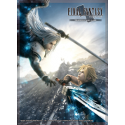 Final Fantasy TCG Supplies - Sleeves - FFVII Advent Children: Cloud/Sephiroth (60 Sleeves)