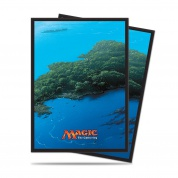 UP - Sleeves Standard - Magic: The Gathering - Mana 5 Island (80 Sleeves)