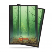 UP - Sleeves Standard - Magic: The Gathering - Mana 5 Forest (80 Sleeves)