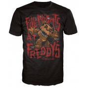 Funko POP! Tees - Five Nights At Fredddy's - FREDDY Size L