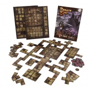 Dungeon Saga - The Black Fortress Tile Pack - EN