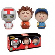Funko Vinyl Sugar Dorbz - Wreck-It-Ralph Collectible Figure 3-Pack 8cm SDCC 2016 Exclusive (Slightly damaged box)