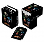 UP - Full-View Deck Box - Mana 4-Symbols