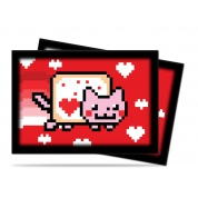 UP - Small Sleeves - Nyan Cat ValentNyan (60 Sleeves)
