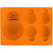 Star Wars Episode 7 The Force Awakens - BB-8 FLAT TYPE Silicon Ice/Choko Tray 13cm