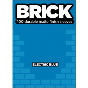Legion - Brick Sleeves - Electric Blue (100 Sleeves)