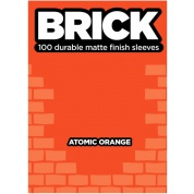 Legion - Brick Sleeves - Atomic Orange (100 Sleeves)