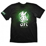 Ori and the Blind Forest T-Shirt - Green Ori & Icon - Size M