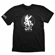Ori and the Blind Forest T-Shirt - Grey Ori & Icon - Size L