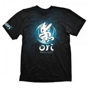 Ori and the Blind Forest T-Shirt - Blue Ori & Icon - Size M
