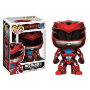 Funko POP! Movies Power Rangers - Red Ranger Vinyl Figure 10cm