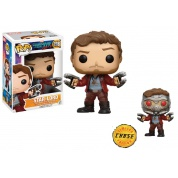 Funko POP! Marvel - Guardians of the Galaxy vol. 2 STAR-LORD Vinyl Figure 10cm Assortment (5+1 chase figure)