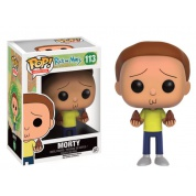 Funko POP! Animation - Rick and Morty Morty Vinyl Figure 10cm