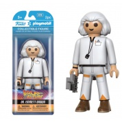 Funko Playmobil - Back to the Future Dr Emmett Brown Figure 15cm