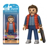 Funko Playmobil - Back to the Future Marty McFly Figure 15cm