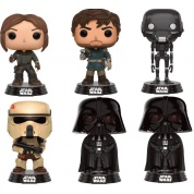 Funko POP! Movies Star Wars Rogue One - Assorted Case of Six Vinyl Figures 10cm
