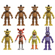 Funko Games - Five Nights at Freddy's - Assorted Case of 8 Action Figures 12cm