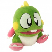 "Bubble Bobble - ""Bub"" Green Plush (22cm)"