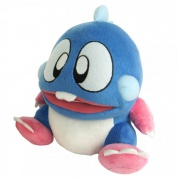 "Bubble Bobble - ""Bob"" Blue Plush (22cm)"