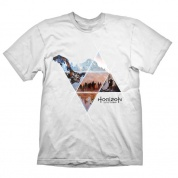 Horizon: Zero Dawn T-Shirt - Vast Lands (white) - Size L