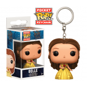Funko Pocket POP! Keychain - Beauty and the Beast Live Action - Belle (4cm)
