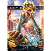 Tokens for MTG - Gremlin Token 2/2 (10 pcs)