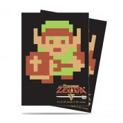 UP - Sleeves Standard - The Legend of Zelda: 8-bit Link (65 Sleeves)