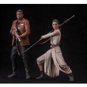 Star Wars Episode VII The Force Awakens ARTFX+ Series - Rey & Finn 2-Pack 1/10 Scale 15-18cm Statues