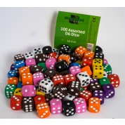 Blackfire Dice - Assorted D6 Dice 16 mm (100 Dice)