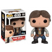 Funko POP! Star Wars - Han Solo Ceremony Vinyl Figure 10cm limited SW-Europe 2016 Celebration sticker