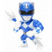 Metals Power Rangers - Blue Ranger Metal Die Cast Action Figure 10cm