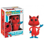 Funko POP! Books Dr. Seuss - Fox in Socks Vinyl Figure 10cm