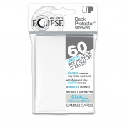 UP - Small Sleeves - PRO-Matte Eclipse - White (60 Sleeves)