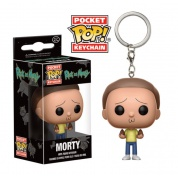 Funko Pocket POP! Keychain Rick and Morty - Morty Action Figure 4cm