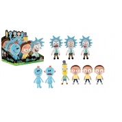 Funko Plushies Rick and Morty - Assortment Display of 9 (4 Characters - different expressions) 18-20cm