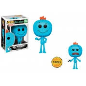 Funko POP! Animation - Rick and Morty Mr. Meeseeks Vinyl Figure 10cm Assortment (5+1 chase figure)