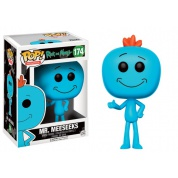 Funko POP! Animation - Rick and Morty Mr. Meeseeks Vinyl Figure 10cm