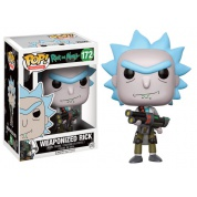 Funko POP! Animation - Rick and Morty Weaponized Rick Vinyl Figure 10cm