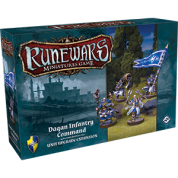 FFG - RuneWars: The Miniatures Game - Daqan Infantry Command Expansion Pack - EN