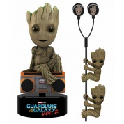 Marvel Guardians Of The Galaxy 2 - Groot Gift Set limited edition feat. Groot Body Knocker 15cm + 2x Groot Scalers & Earbugs