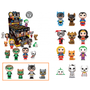 Funko Mystery Mini - DC Super Heroes & Pets Mini Figure Display (12 pc blind packaging) Limited Mix