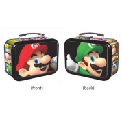 Super Mario - 3-D Mario & Luigi Tin w/ Handle