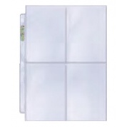 UP - Platinum 4-Pocket Pages Display (100 Pages)