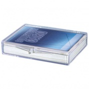 UP - Hinged Clear Box - (For 35 Cards)