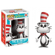 Funko POP! Books Dr. Seuss - Cat In The Hat Flocked Vinyl Figure 10cm limited