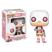 Funko POP! Marvel - Gwenpool with Gun and Phone Vinyl Figure 10cm