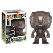 Funko POP! TV Power Rangers - Black Ranger Morphing Vinyl Figure 10cm
