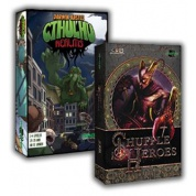 Blackfire Card Game Bundle - Shuffle Heroes / Cthulhu Realms - DE