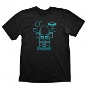 Starbound T-Shirt - Cultivator Glow In The Dark - Size S